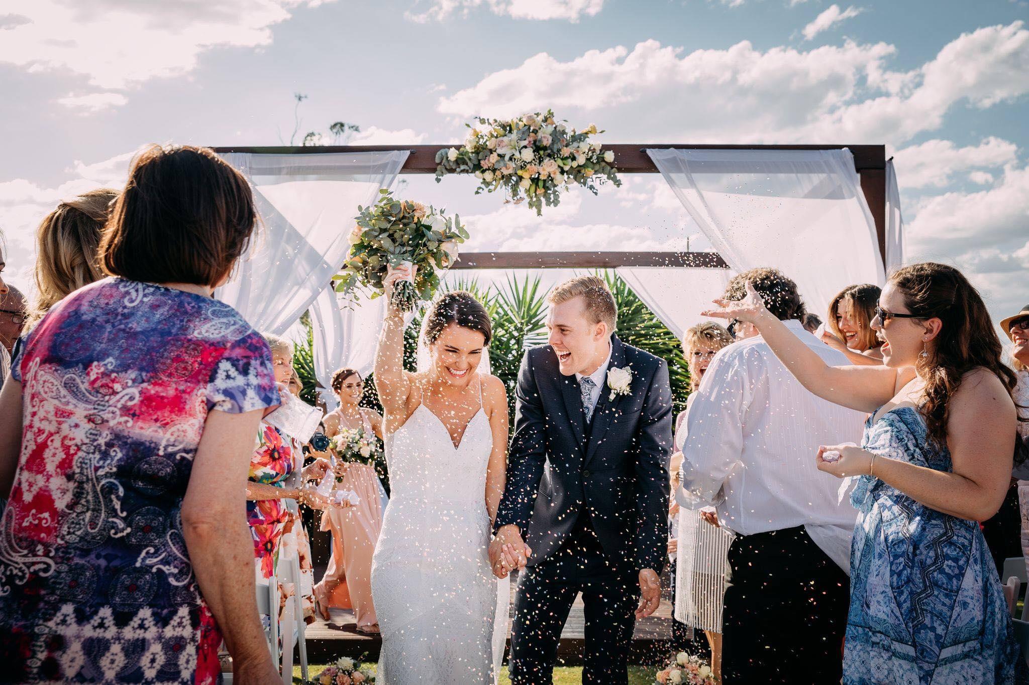 Wedding Pavilion Exit