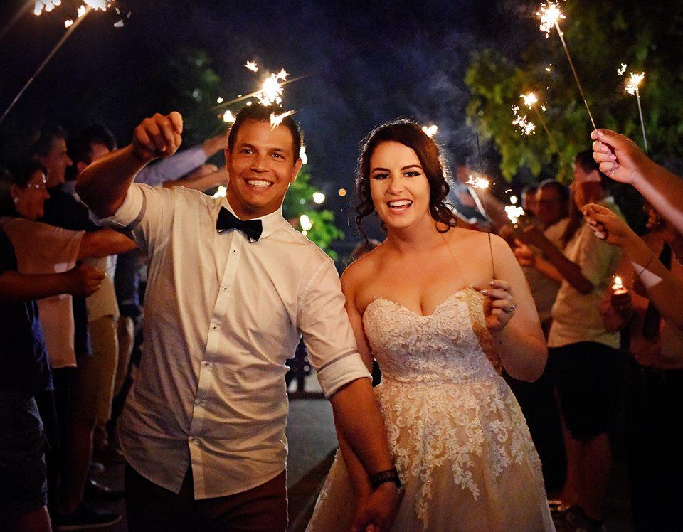 Sparkler – First Wedding for 2018